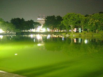 Chuo Pond in Tsukuba Center during Tsukuba Matsuri 2007