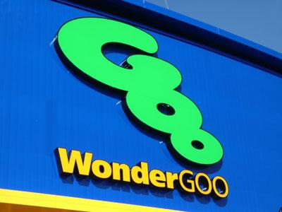 New Wonder Goo in Tsukuba