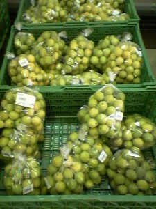 ao ume, green plums