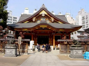 Yushima Tenjin Shrine in Tokyo popular place for Tsukuban JUKENSEI, or their parents, to pray