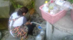 Filling Up with the KOWASHIMIZU waters
