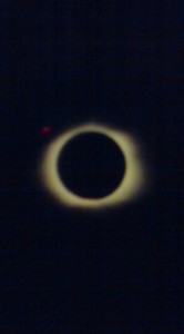 Total Eclipse of the Sun (Feb. 26 1998, as seen from Curacao, Netherland Antilles