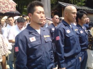 Rightists in uniform