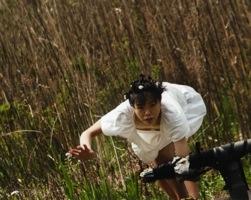 Mako Karasawa Improvising among the reeds