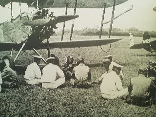 Turf grass was originally cultivated in the Tsukuba area for use at air-fields, before tarmac runways were introduced.