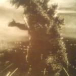 Godzilla under fire (1954)