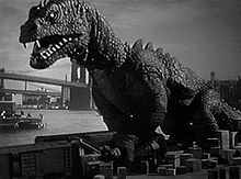 The Beast From 20,000 Fathoms (1953) attacking New York