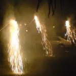 At 7:30, the tachibana fireworks begin!