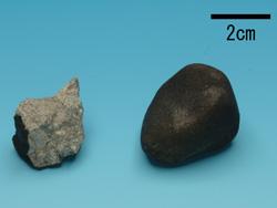 Pieces of the Tsukuba Meteorite