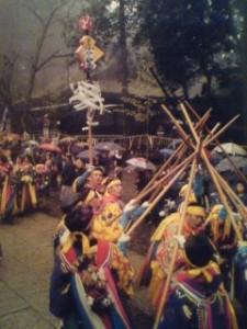 On March 9th- the Saito-Sai Festival at the Kashima Grand Shrine in Kashima, Ibaraki