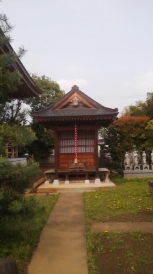This small hall on the grounds of the Kofuku-Ji Temple is the first stop on the Tsukuba Mini-Pilgrimage which starts each year on March 30th