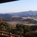 The view from SAIKO-IN (officially called the MINEH DERA YAMA SAIKOH IN- 峰寺山西光院)