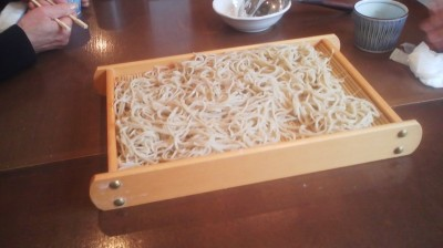Ogawa is a soba restaurant and if you think you`ll have the room in your stomach you cn ask the chef (Ogawa-san) to make some JU-WARI (100% buckwheat) soba noodles - for no extra- charge!