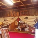 A look inside the shrine`s worship hall