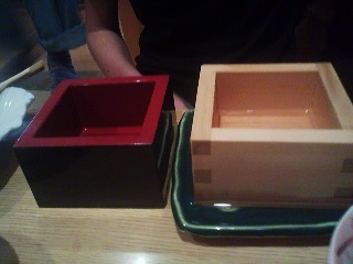 A lacquered MASU for women or men, and a plain untreated cypress MASU exclusively for men. Why?