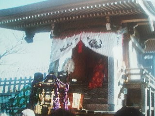 And a ceremony on the peak of Nyotai Zan