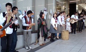 And don`t miss the Tsukuba U`s great Andean Music Circle- they run a South American restaurant, as well, on the festival days.