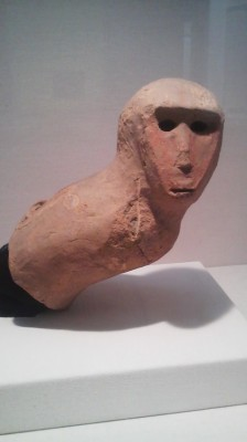 A rare haniwa depicting a monkey