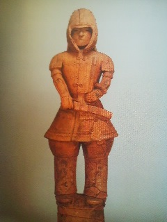 A warrior type haniwa (National Treasure)