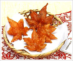 MOMOJI (MAPLE LEAF) TEMPURA