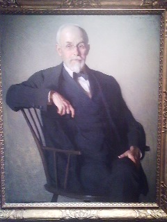 A portrait of Dr. Morse in his later years
