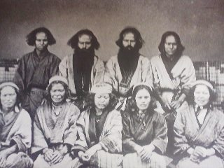 Interstingly, the curators did not include, or even mention, the photographs of the Ainu people which are part of the morse Collection