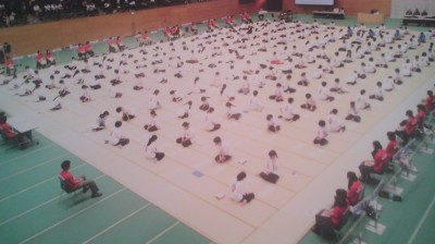 the Ibaraki Prefecture Junior High School Hykaunin Isshu Championships- (Mito 2014)