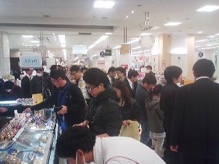 Last minute White-Day shopping in Tsukuba -March 13th 2014