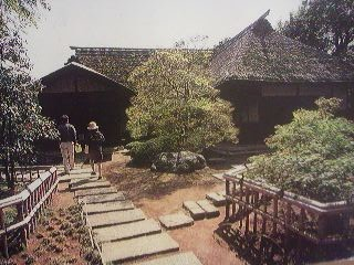 The former house of the Edo Period scholar of Dutch-Studies- Takami Senseki