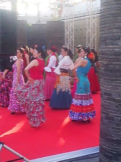 Flemenco dancers- one of the many acts performing at the Tsukuba International Festival ( this year on May 10th and 11th)