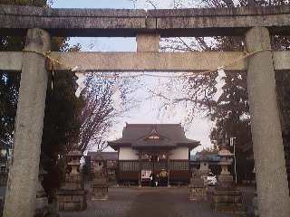 The Yasaka Shrine in Karima