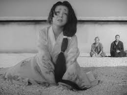 The beautiful and intensely passionate Machiko Kyo plays the Samurai`s wife- he she is telling her version of what happened at the scene of the crime