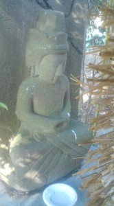 A Dainichi Nyorai Statue in Tsukuba