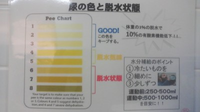 Wall-Chart inside a Tsukuba University Men`s Room