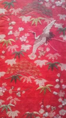 Crane motif
