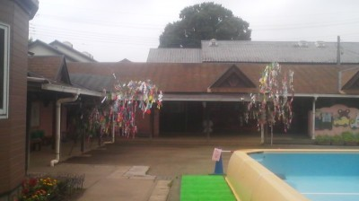 Tanabata trees at the Matsushiro Kindergarten