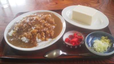 My usual lunch at the Suzuya Shokudo Restaurant
