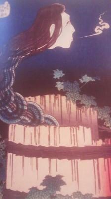 Sarayashiki- from the series One Hundred Ghost Stories- Katsushika Hokusai (1831-1832)