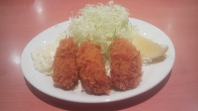 You can order a side-dish of fried oysters at Denny`s - or you can go with a more elaborate oyster set, if you like.