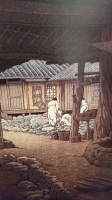 or his depictions of the Korean Penininsula (which from 1910 to 1945  were part of the Empire of Japan). These would have given a fuller picture of Hasui, the man, and his times.