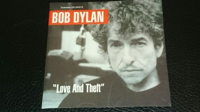 Dylan`s Love and Theft was released on September 11, 2001 (of all days!)