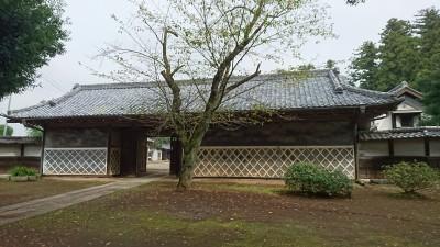 Headman`s house in Yamanaka, Tsukuba