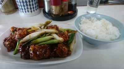 Fried pork at Nakamura`s