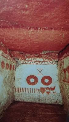 The inner chamber of the Torazuka Kofun tumulus
